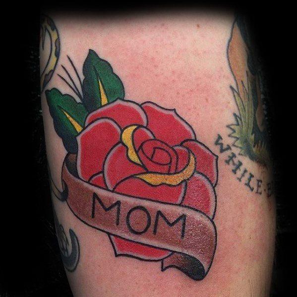 Mom Tattoos For Men 1: Mom Tattoos For Men (10)