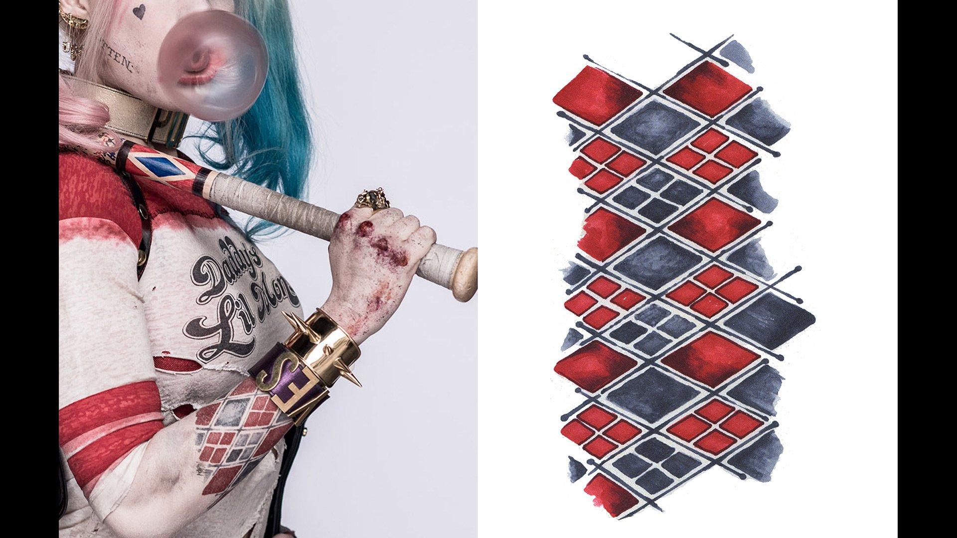 Harley Quinn Tattoo Guide Temptoo Temptoo Temporary Tattoo